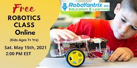 Online Robotics Class (Kids 7+ Years) tickets