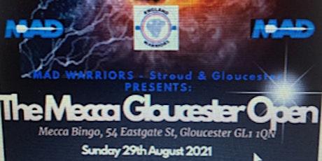 Mecca Gloucester Darts Open tickets