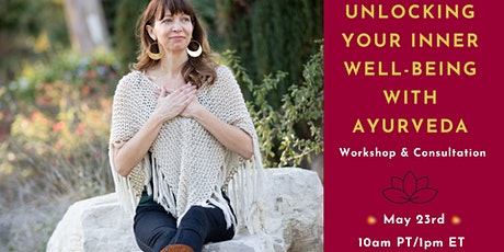 Unlocking your Inner Well-Being with Ayurveda tickets