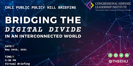 CHLI Briefing: Bridging The Digital Divide In A Interconnected World tickets