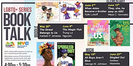 LGBTQ+ Book Talk Series (High School) tickets