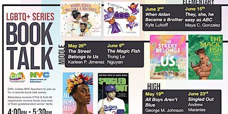 LGBTQ+ Book Talk Series (Middle School) tickets