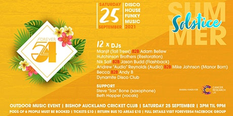 Forever 54 presents Summer Solstice Take 2 tickets