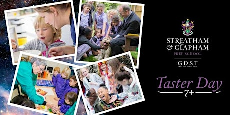 7+ Taster Morning at Streatham and Clapham Prep School tickets
