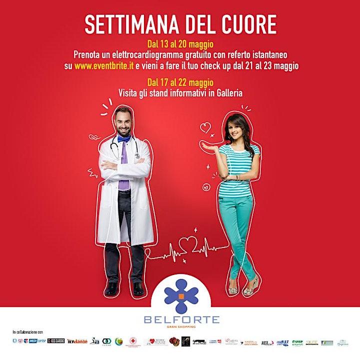 Immagine Settimana del cuore - ECG Gratuito  - Belforte Gran Shopping