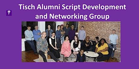 6/3/2021 Meeting of the Tisch Alumni Script Development & Networking Group tickets
