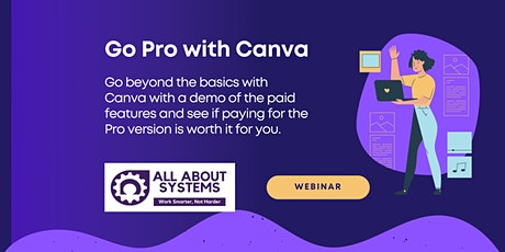 Go Pro with Canva tickets