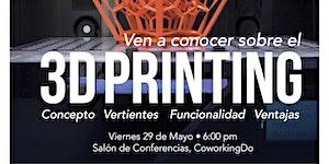 Charla 3D Printing