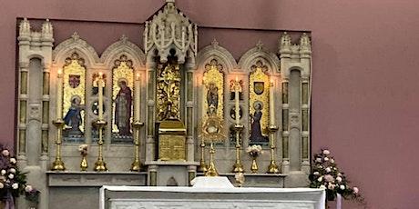 Mass - Sunday Vigil - Saturday 15 May, 5.30pm tickets