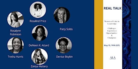 Women of Color in Leadership: Challenges, Experiences, Opportunities and Ch tickets