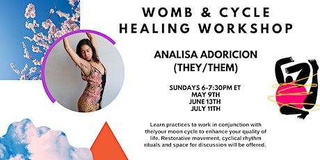 Womb & Cycle Healing Workshop tickets