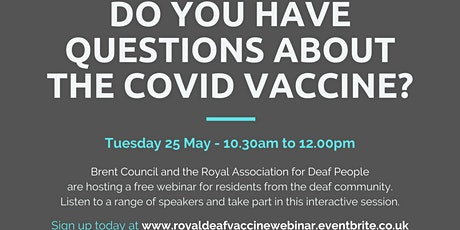 Do you have questions about the COVID vaccine? tickets