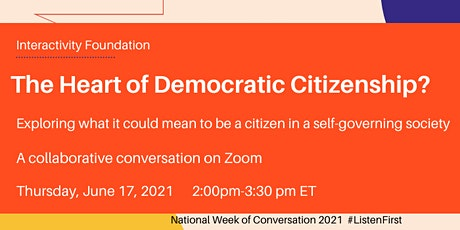The Heart of Democratic Citizenship? tickets