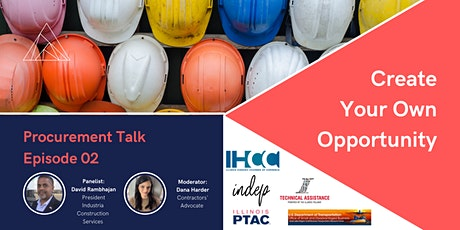 Procurement Talk Episode 02: Create Your Own Opportunity tickets