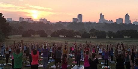 Summer Solstice Sunrise Yoga at Dix Park tickets