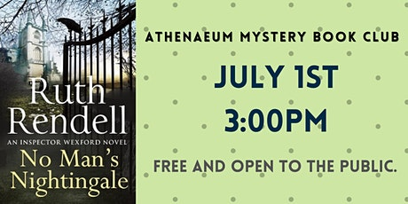 Athenaeum Mystery Book Club: No Man's Nightingale tickets
