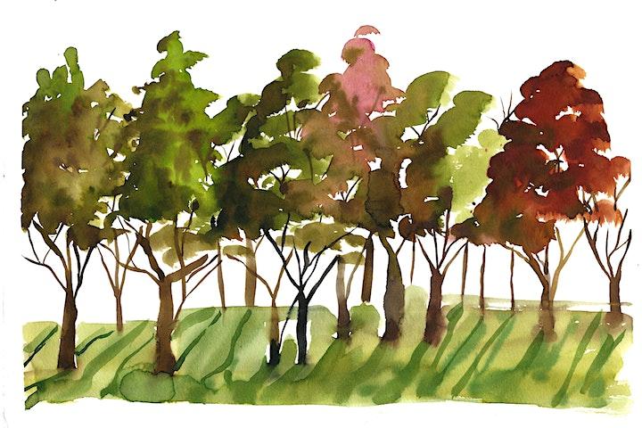 Watercolour Day Trip : Hyde Park image