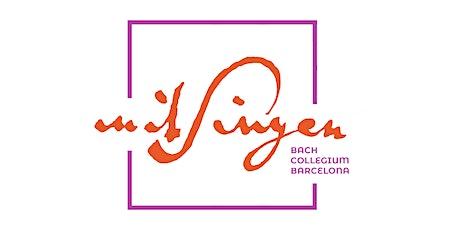 10è Aniversari Mitsingen Bach Collegium entradas
