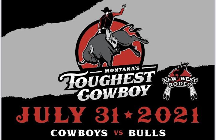 Montana's Toughest Cowboy.  Cowboys vs. Bulls image