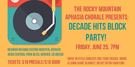Rocky Mountain Aphasia Chorale Summer Concert tickets