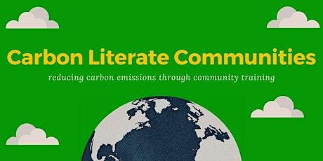 Carbon Literacy Course - 2 Half days EPP2106 tickets