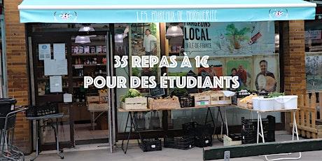 Menus à 1€ pour 35 étudiants billets