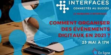 Comment digitaliser ses événements en 2021 ? billets