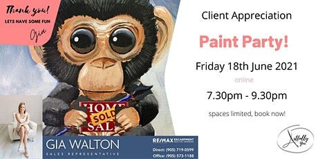 Client appreciation Paint Night with Gia Walton tickets