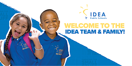 IDEA Horizon Vista Academy: Welcome to IDEA! (PK) entradas