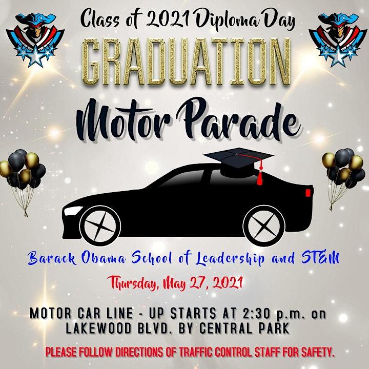 8th Grade - Diploma Day - Graduation Celebration Stations - Barack Obama image