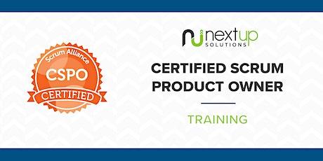 Certified Scrum Product Owner (CSPO) Training (Virtual) bilhetes