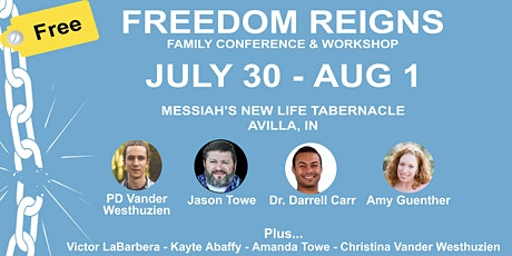 Freedom Reigns Family Conference 2021 tickets