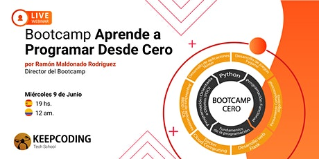 Sesión informativa: Bootcamp Aprende a Programar Desde Cero - VIII Edición boletos
