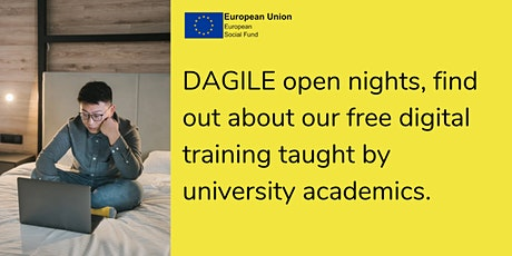 DAGILE Open Nights - IT & Digital and Digital Creative tickets