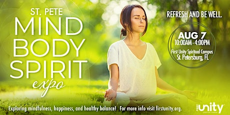 St. Pete Mind Body Spirit Expo at First Unity Spiritual Campus tickets