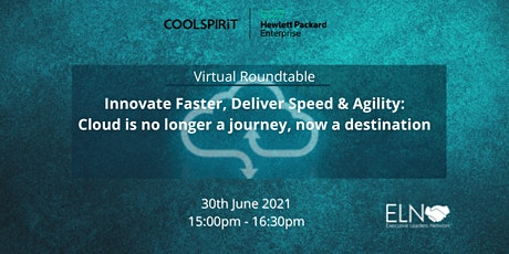 Innovate Faster, Deliver Speed & Agility: Cloud is no longer a journey, now tickets