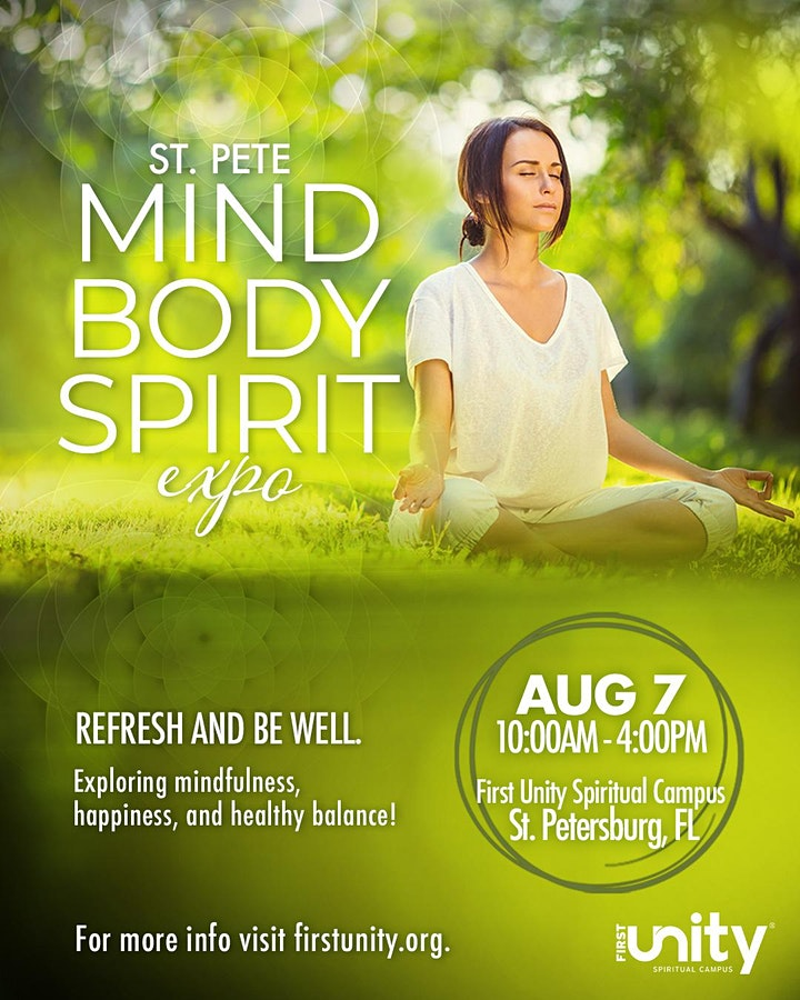 St. Pete Mind Body Spirit Expo at First Unity Spiritual Campus image