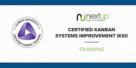 Kanban Systems Improvement (KSI) Training - Formerly KMP II (Virtual) tickets