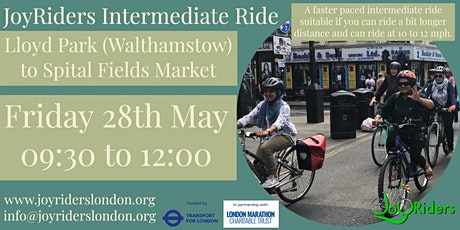 Intermediate Ride: Lloyd Park Walthamstow to Spitalfields Market tickets