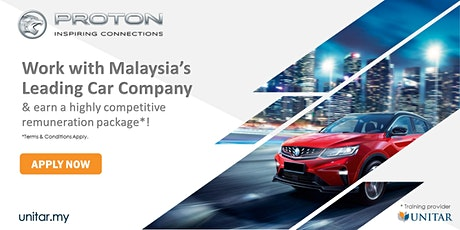 JOIN THE PROTON TEAM: SALES ADVISOR WALK-IN-INTERVIEW tickets
