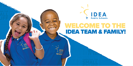 IDEA Horizon Vista College Preparatory: Welcome to IDEA! (6th, 7th) entradas