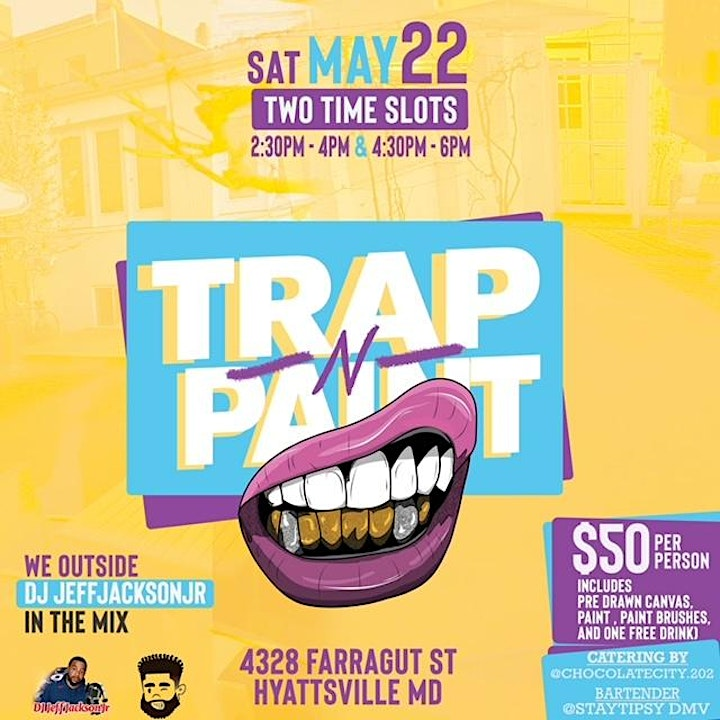 Trap and Paint: We Outside!!! image