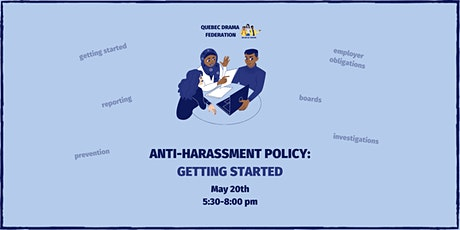 Anti-Harassment Policy: Getting Started tickets