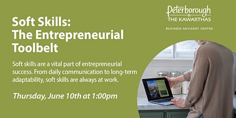 Soft Skills: The Entrepreneurial Toolbelt tickets