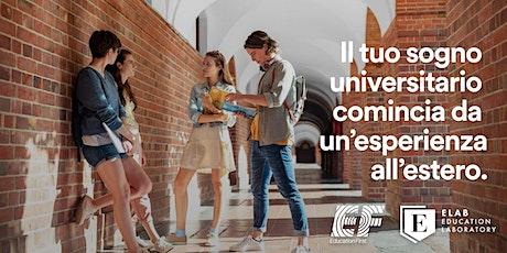 Il tuo sogno universitario comincia da un'esperienza all'estero! biglietti