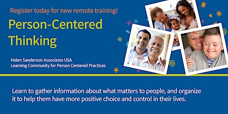 Person Centered Thinking - June 2021 tickets