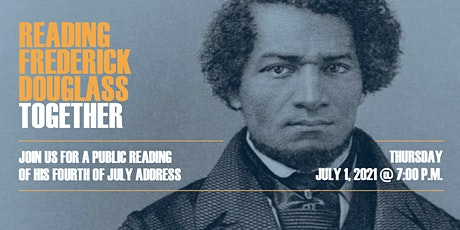 VIRTUAL EVENT: Reading Frederick Douglass tickets