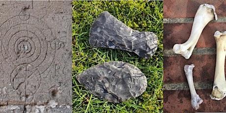 Understanding the past through objects: Flints, bones & historical graffiti tickets