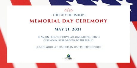 Fishers Memorial Day Ceremony tickets