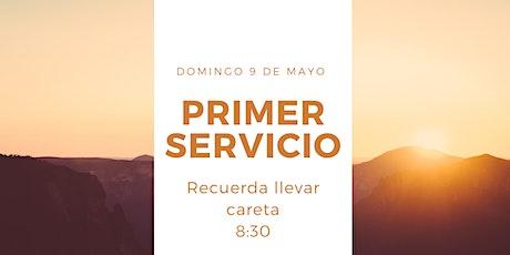 Primer Servicio Presencial entradas